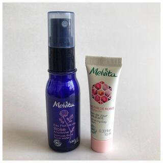 Melvita - 【新品未使用】メルヴィータ 化粧水 &ネクターデローズクリーム