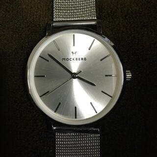 Mockberg クォーツ腕時計 保証期間残 モックバーグ スウェーデン(腕時計)