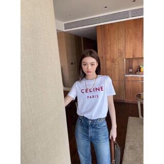 celine - 超人気セニーヌ 半袖Tシャツ CELINE M