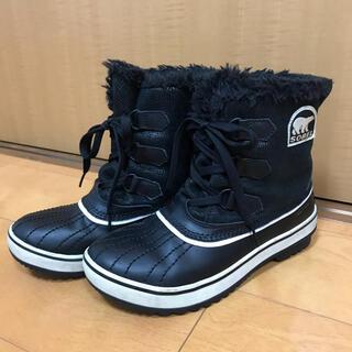 ソレル(SOREL)のソレル SOREL スノーブーツ TIVOLI 37 23cm 黒(ブーツ)