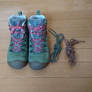 KEEN - KEEN 登山靴 24.5 レディース トレッキングシューズ