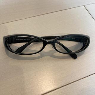 ジンズ(JINS)のJINS ジンズ メガネ ドライアイ 花粉症対策 ブラック(サングラス/メガネ)