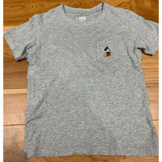 UNIQLO - UNIQLO UT ミッキー刺繍Tシャツ 120cm