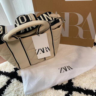 ZARA - ZARAショルダーバック 新品未使用 4月17日限定出品!