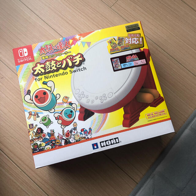 Nintendo Switch(ニンテンドースイッチ)の太鼓の達人 switch エンタメ/ホビーのゲームソフト/ゲーム機本体(その他)の商品写真