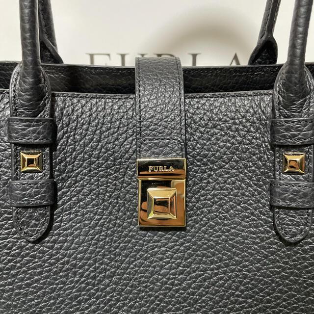 Furla(フルラ)の新品未使用 FURLA トートバッグ 黒 レディースのバッグ(トートバッグ)の商品写真