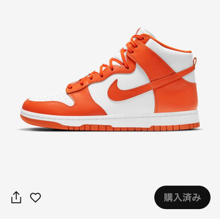NIKE - NIKE ダンク HIGH Orange Blaze