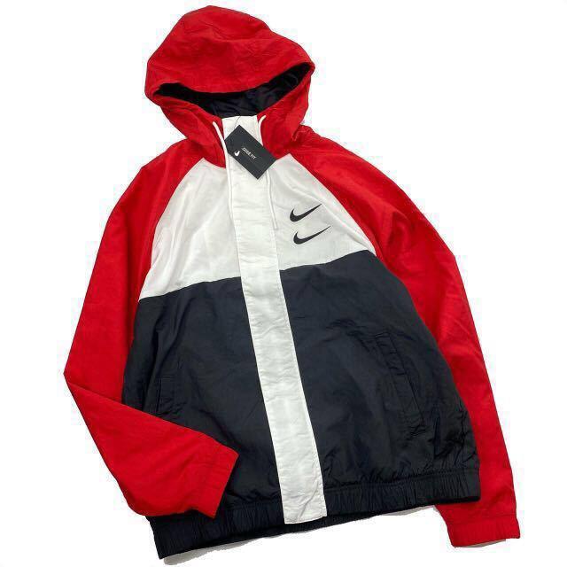 NIKE(ナイキ)のナイキ スポーツウェア スウッシュ ウーブン  フーデッド ジャケット nike メンズのジャケット/アウター(ナイロンジャケット)の商品写真