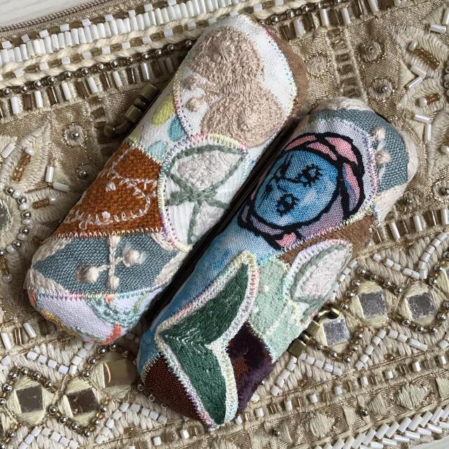mina perhonen(ミナペルホネン)のミナペルホネン 印鑑ケース マルチ look ハンドメイドの生活雑貨(雑貨)の商品写真