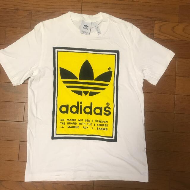 adidas(アディダス)のadidas Tシャツ sizeS メンズのトップス(Tシャツ/カットソー(半袖/袖なし))の商品写真