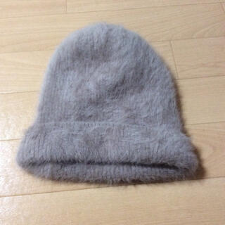 トゥデイフル(TODAYFUL)の最終値下げ❗️【美品】ニット帽 帽子 ファー(ニット帽/ビーニー)