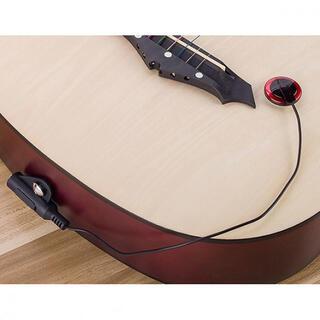 必見!ピエゾピックアップマイク アコースティックギター用 ウクレレも可(アコースティックギター)