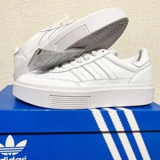 adidas - 【新品】adidas アディダス レディース スニーカー オールホワイト 24