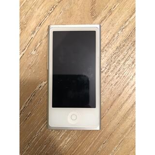 Apple - iPod nano第 7 世代シルバー/アイポッドナノ