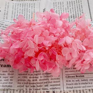 【花材】アジサイ ピンクローズ 【№4】(プリザーブドフラワー)