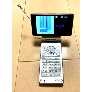 SHARP - SH903iTV docomo ガラケー ホワイト 本体のみ