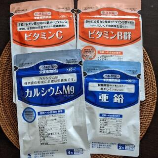 コバヤシセイヤク(小林製薬)の小林製薬ビタミンB.C.亜鉛.Mg 4袋SET(ビタミン)