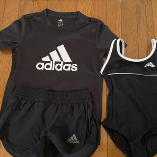 アディダス(adidas)のadidas 上下セット 水泳 水着 短パン ラッシュガードアディダス(水着)