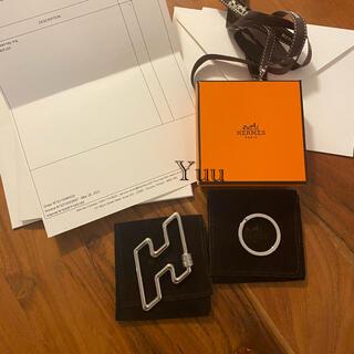 Hermes - 新品未使用 エルメス キーリング キーホルダー H
