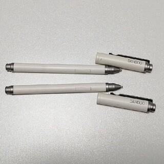 ワコム(Wacom)のワコム bamboo stylus feelタッチペン2本 タブレット端末用(タブレット)