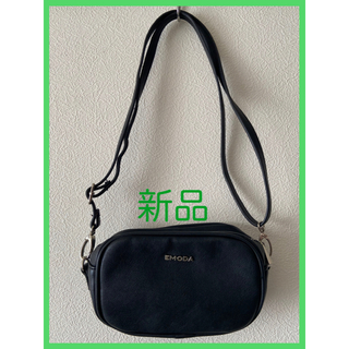 EMODA - 【新品】EMODA Sout Grain leatherショルダーバッグ(BLK