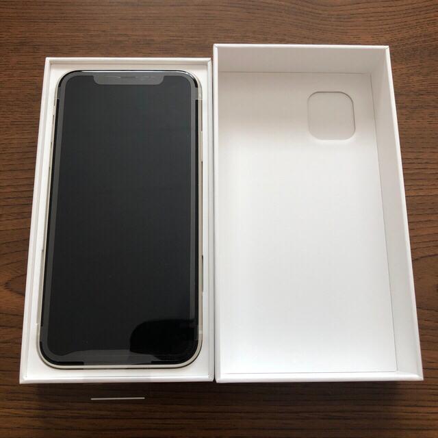 Apple(アップル)のiPhone 11 ホワイト 64 GB SIMフリー スマホ/家電/カメラのスマートフォン/携帯電話(スマートフォン本体)の商品写真