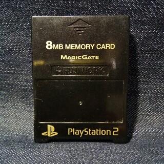 PlayStation2 - AZ23 非純正PS2用メモリーカード1個 フジワーク日本製 即購入歓迎動確初済