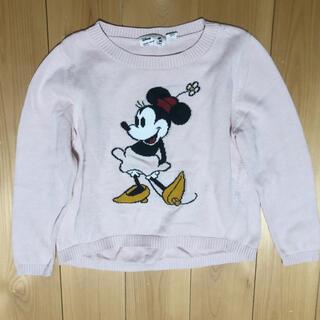 UNIQLO - ユニクロ 春用キッズ セーター サイズ110 ディズニー ミニーマウス