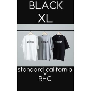 Ron Herman - スタンダード カリフォルニア × ロンハーマン RHC  Tシャツ 黒 XL