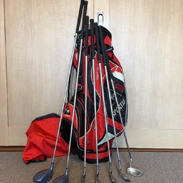 Paradiso(パラディーゾ)のレディースゴルフクラブセット PARADISO 7本セット スポーツ/アウトドアのゴルフ(クラブ)の商品写真