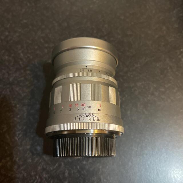 フォクトレンダーHELIAR75mmF2.5 スマホ/家電/カメラのカメラ(レンズ(単焦点))の商品写真