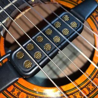 【送料込み】アコースティック楽器用外付けピックアップ  ギター ウクレレ(アコースティックギター)
