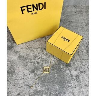 フェンディ(FENDI)のフェンディ ネックレス ロゴ(ネックレス)