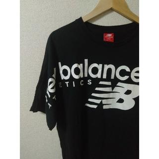ニューバランス(New Balance)の【美品】New Balance ブラック Tシャツ Lサイズ(Tシャツ/カットソー(半袖/袖なし))
