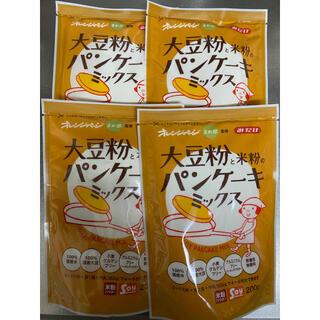 みたけ食品 大豆粉と米粉のパンケーキミックス 4袋(菓子/デザート)