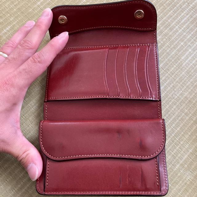旧ロゴ WILDSWANS BYRNE ワイルドスワンズ バーン メンズのファッション小物(折り財布)の商品写真