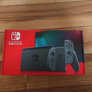 任天堂 - 【新品】Nintendo Switch新モデル 任天堂スイッチ本体 グレー