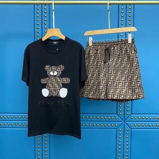フェンディ(FENDI)のセットアップ Tシャツ パンツ 熊(その他)