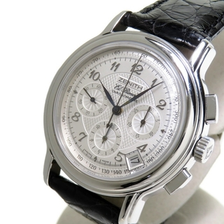 ゼニス(ZENITH)のゼニス 腕時計  クロノマスター エルプリメロ 01.0240.4(腕時計(アナログ))