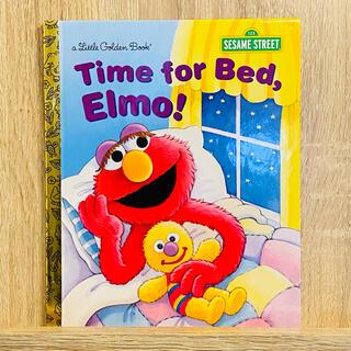 英語絵本 セサミストリート Time for Bed, Elmo! おやすみ絵本