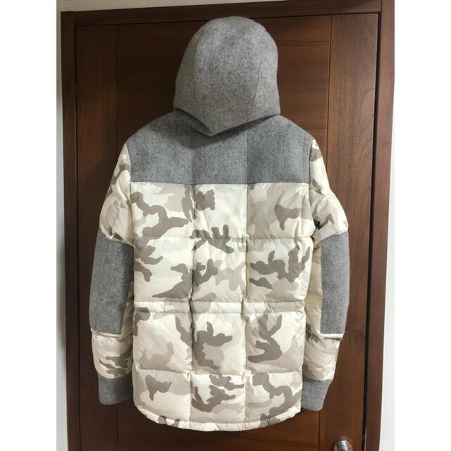 MONCLER(モンクレール)のモンクレール beaumont 希少サイズ4 カモフラ ウール moncler メンズのジャケット/アウター(ダウンジャケット)の商品写真