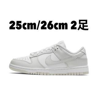 "NIKE - 【2足】Nike WMNS SB Dunk Low ""Photon Dust"""
