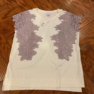 ローズバッド(ROSE BUD)のROSEBUD*未着用 レースTシャツ(Tシャツ(半袖/袖なし))
