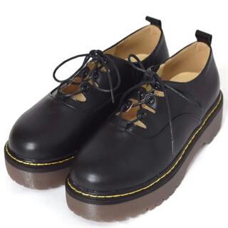 ダブルクローゼット(w closet)のギリーマーチン(ローファー/革靴)