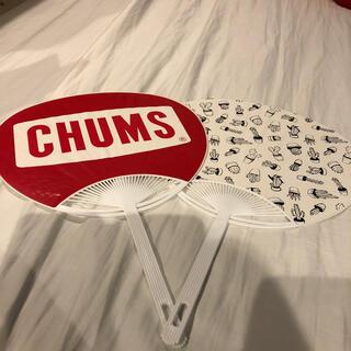 CHUMS - チャムス  CHUMS うちわ