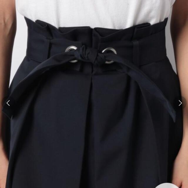 ANAYI(アナイ)のアナイ ポリエステルストレッチステッチスカート 36 ネイビー レディースのスカート(ひざ丈スカート)の商品写真