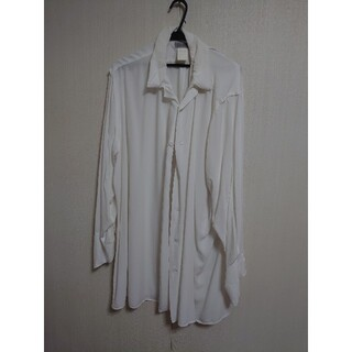 ヨウジヤマモト(Yohji Yamamoto)のヨウジヤマモト 白シャツ(シャツ)