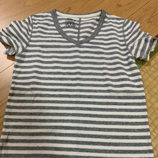 アズールバイマウジー(AZUL by moussy)のAZUL by moussy ボーダー Tシャツ 140(Tシャツ/カットソー)