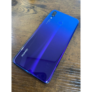 HUAWEI - 【美品】Huawei nova3 アイリスパープル