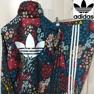 adidas - adidas アディダス 小花柄 flower t.top+レギンス L